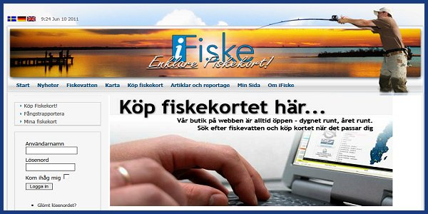 Länk till Ifiske.se